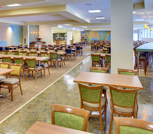 Lighthouse Electric   United Hospital   Cafeteria Seating