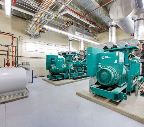 Lighthouse Electric   United Hospital   Cummins 2250 kw Generators